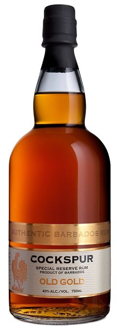 """Rum Cockspur """"Old Gold"""" Special Reserve Rum 750ml"""