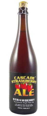 Beer Cascade Brewing Strawberry Northwest Sour Ale 750ml