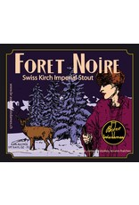 "Beer Brasserie Trois Dames ""Foret Noire"" Swiss Kirch Imperial Stout 750ml"