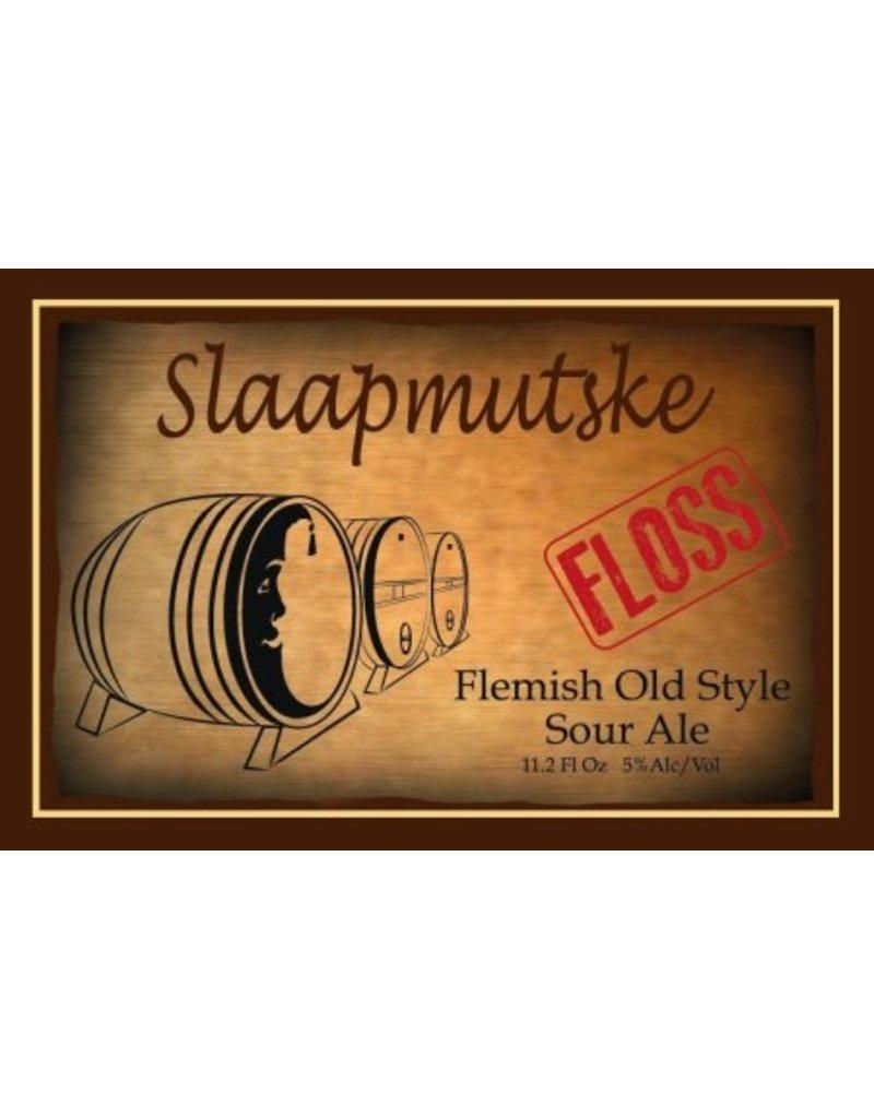 """Beer Slaapmutske """"Floss"""" Flemish Old Style Sour Kriek 750ml"""