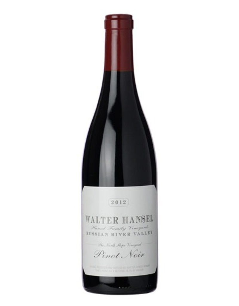 American Wine Walter Hansel Pinot Noir Russian River Valley 2014 750ml