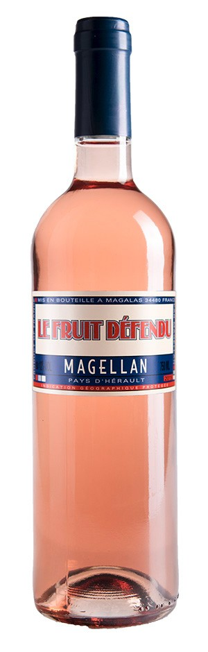 French Wine Le Fruit Defendu Magellan Rosé 2016 750ml