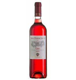 Italian Wine Fattoria San Francisco Ciro Rosato 2015 750ml