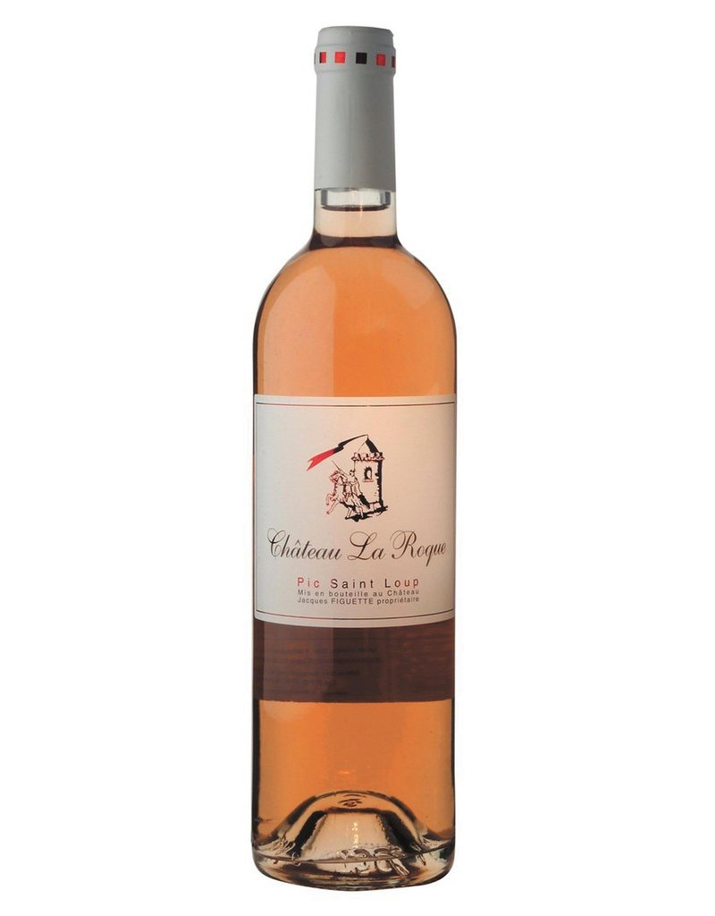 French Wine Chateau La Roque Pic Saint Loup Rose 2016