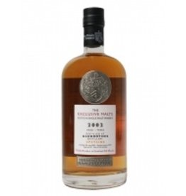 Scotch The Exclusive Malts Glenrothes 2002 12 Year Cask Strength 54.5%abv 750ml
