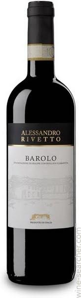 Italian Wine Alessandro Rivetto Barolo di Lazzaretto 2009 750ml