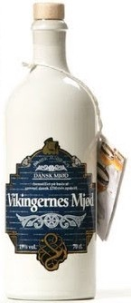 "Mead Dansk Mjod ""Vikingernes Mjod"" Nordic Honey Wine With Hops Added 750ml"
