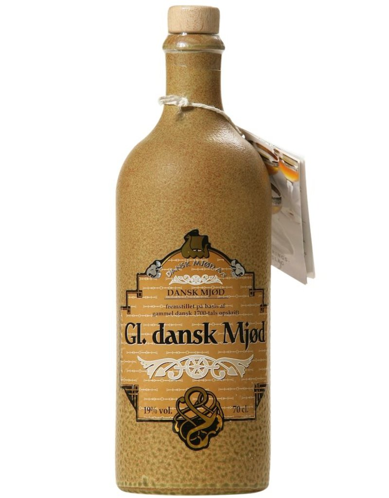 "Mead Danska Mjod ""Gl. Dansk Mjod"" Nordic Honey Wine With Ginger and Hops Added 750ml"