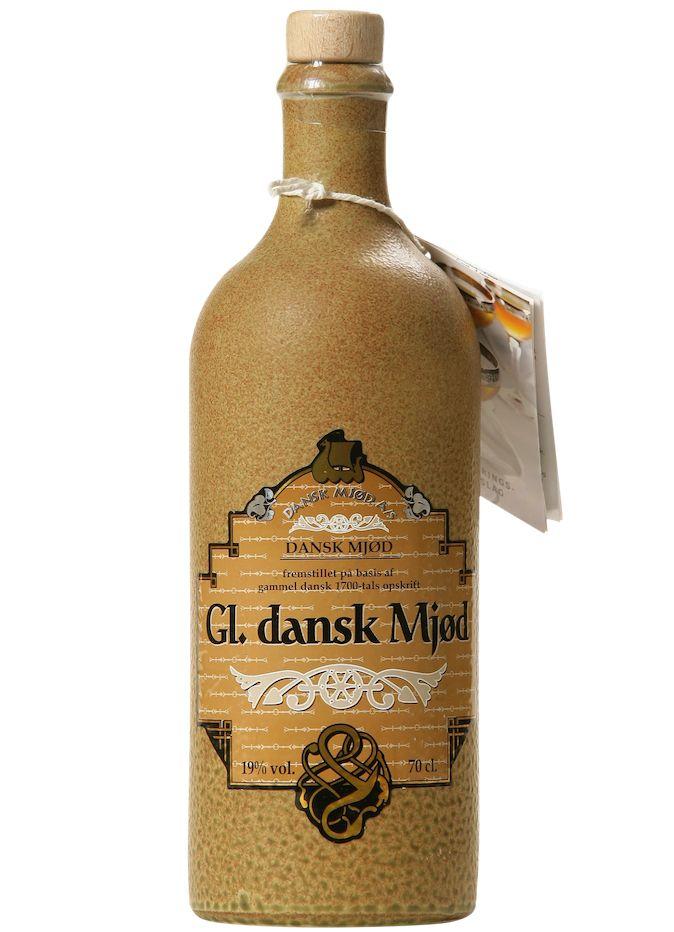 "Mead Danska Mjod ""Gl. Dansk Mjod"" Nordic Honey Wine With Ginger and Hops Added 750ml"