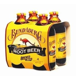 Sweetened Beverage Bundaberg Root Beer 375ml 4 pack