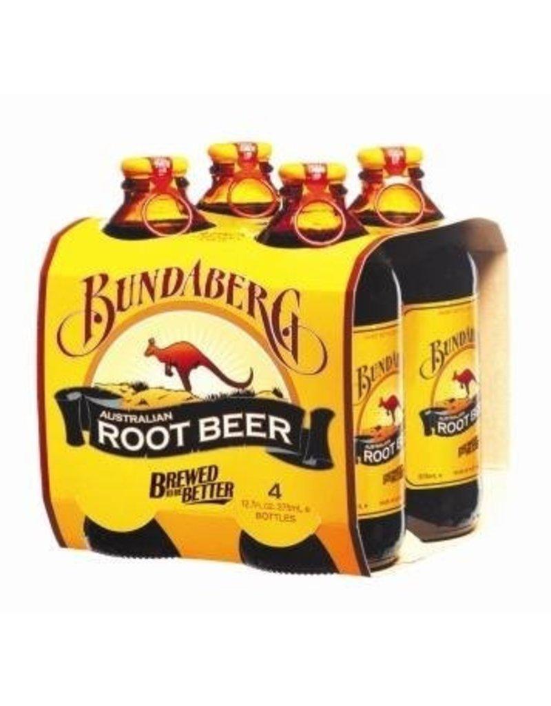 Sweetened Beverage Bundaberg Root Beer 375ml 4 pack
