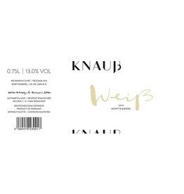 German Wine Knauss Weiss Blend Trocken Wurttemberg 2016 750ml