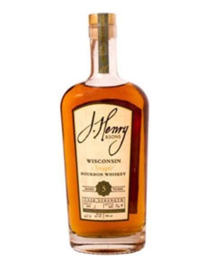 Bourbon J. Henry and Sons Bourbon Aged 5 Years 750ml