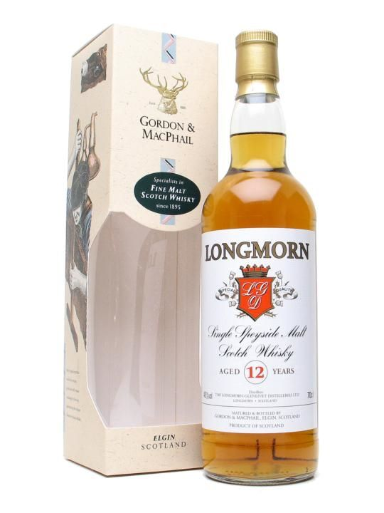 Scotch Gordon & MacPhail Longmorn 12 Year Scotch Whisky 750ml