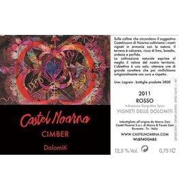"""Italian Wine Castel Noarna """"Cimber"""" Dolomiti 2012 750ml"""