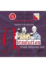 Beer Abtsolution Dark Belgian Ale New Glarus/De Proef Collaboration 750ml