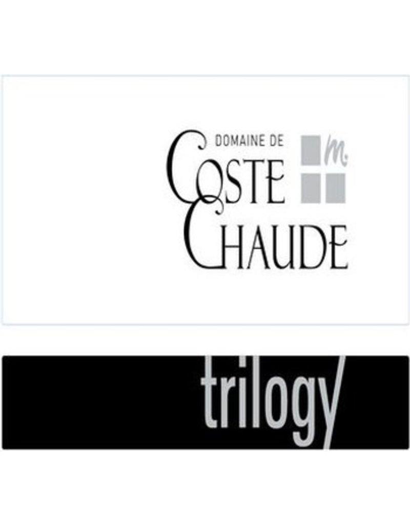 """French Wine Domaine de Coste Chaude """"Cuvée Trilogy"""" Cotes du Rhone Blanc 2015 750ml"""