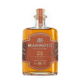 "Whiskey Mammoth Distilling ""Woolly"" Rye Whiskey 750ml"
