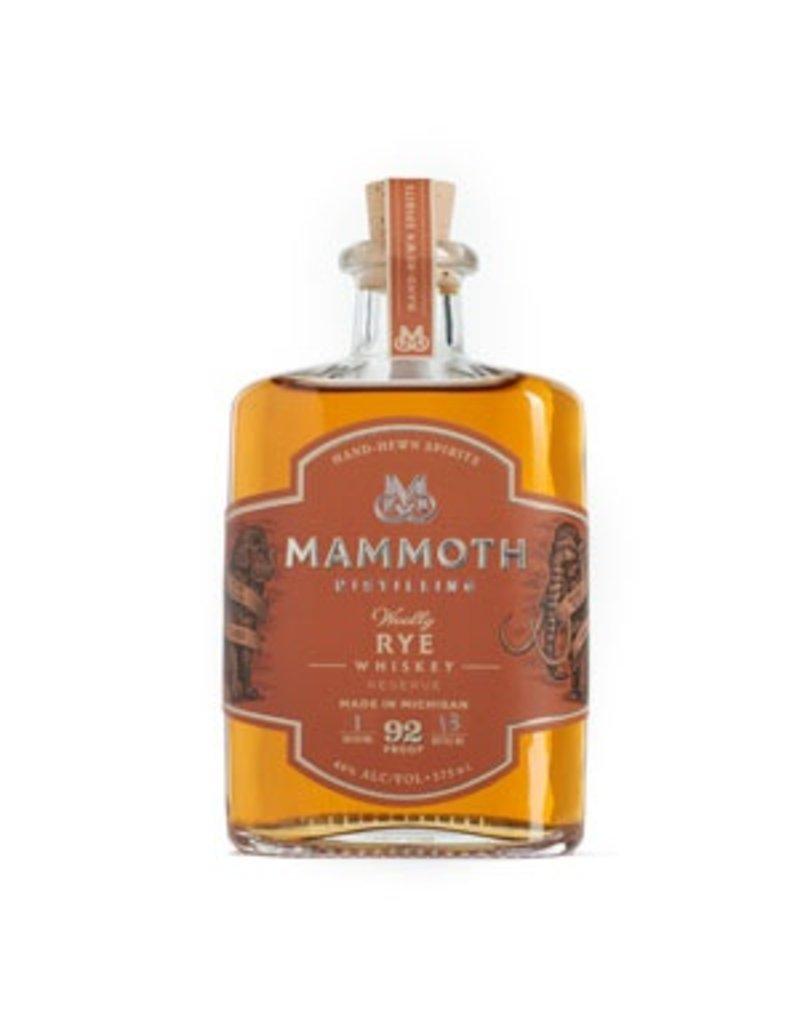 """Whiskey Mammoth Distilling """"Woolly"""" Rye Whiskey 750ml"""