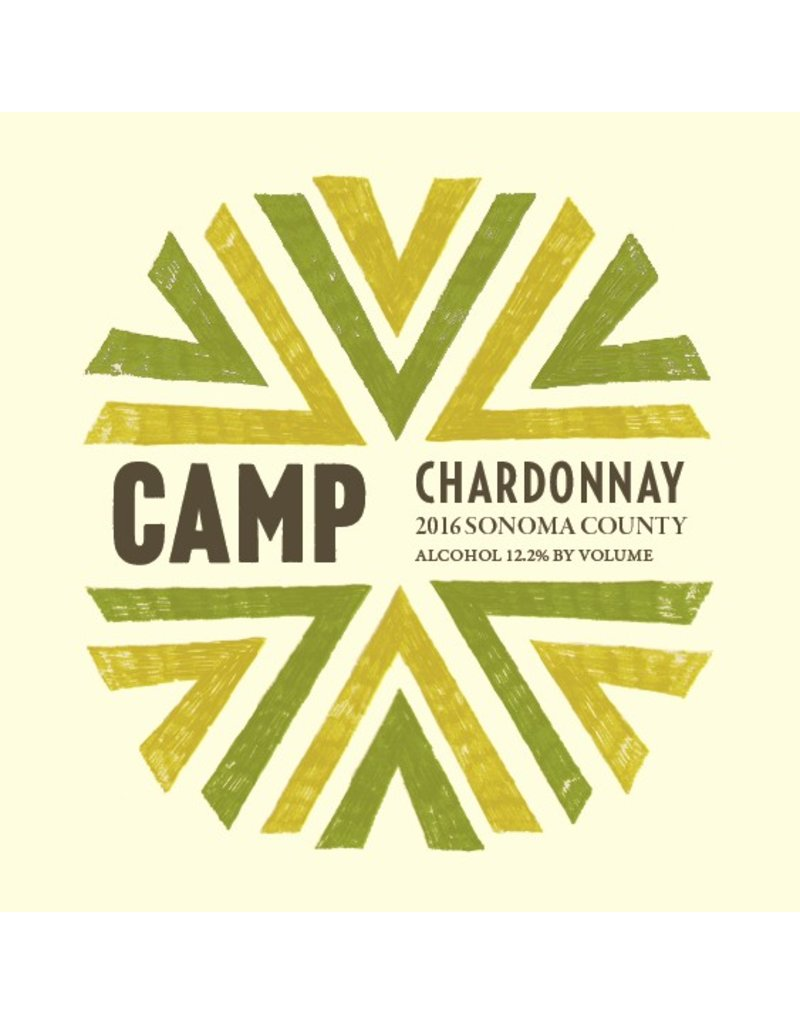 American Wine Camp ChardonnaySonoma County 2016 750ml
