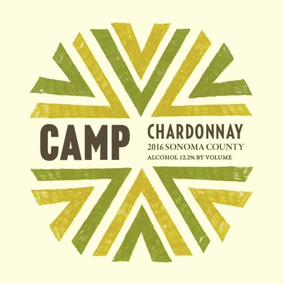 American Wine Camp ChardonnaySonoma County 2016 750ml