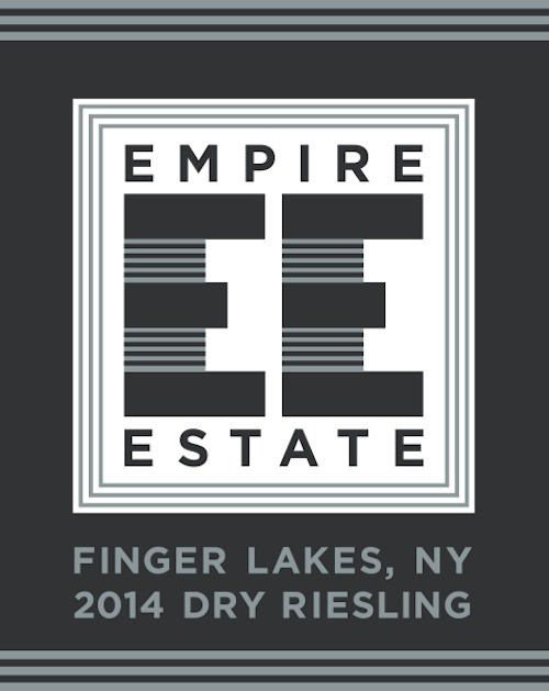 American Wine Empire Estate Dry Riesling Finger Lakes, New York 2015 750ml