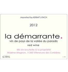 "French Wine Maxime Magnon ""La Démarrante"" Corbiéres Rouge 2015 750ml"