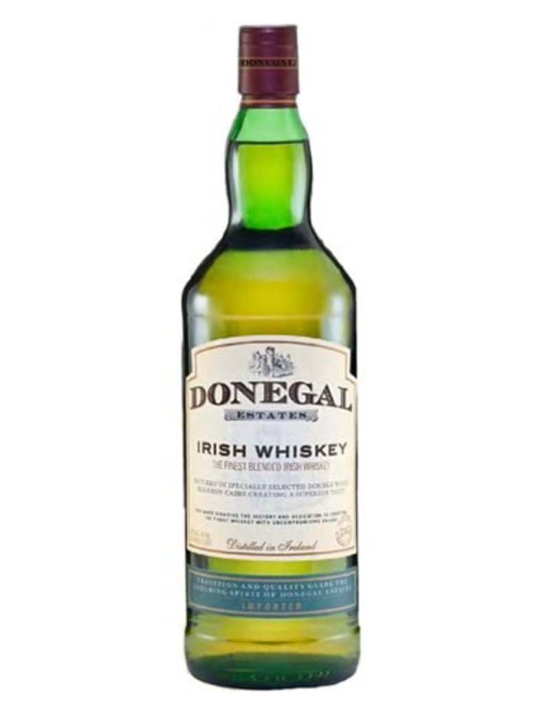 Irish Whiskey Donegal Irish Whiskey 750ml