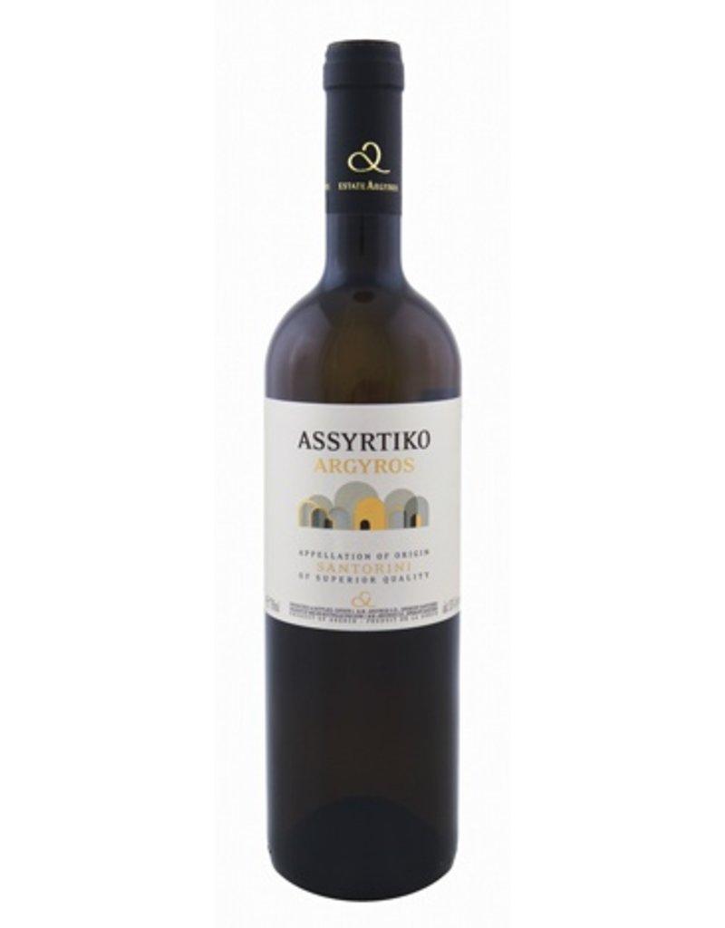 Greek Wine Argyros Santorini Assyrtiko 2015 750ml