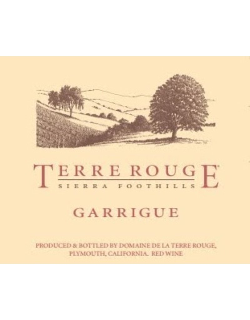 "American Wine Terre Rouge ""Garrigue"" 2013 750ml"