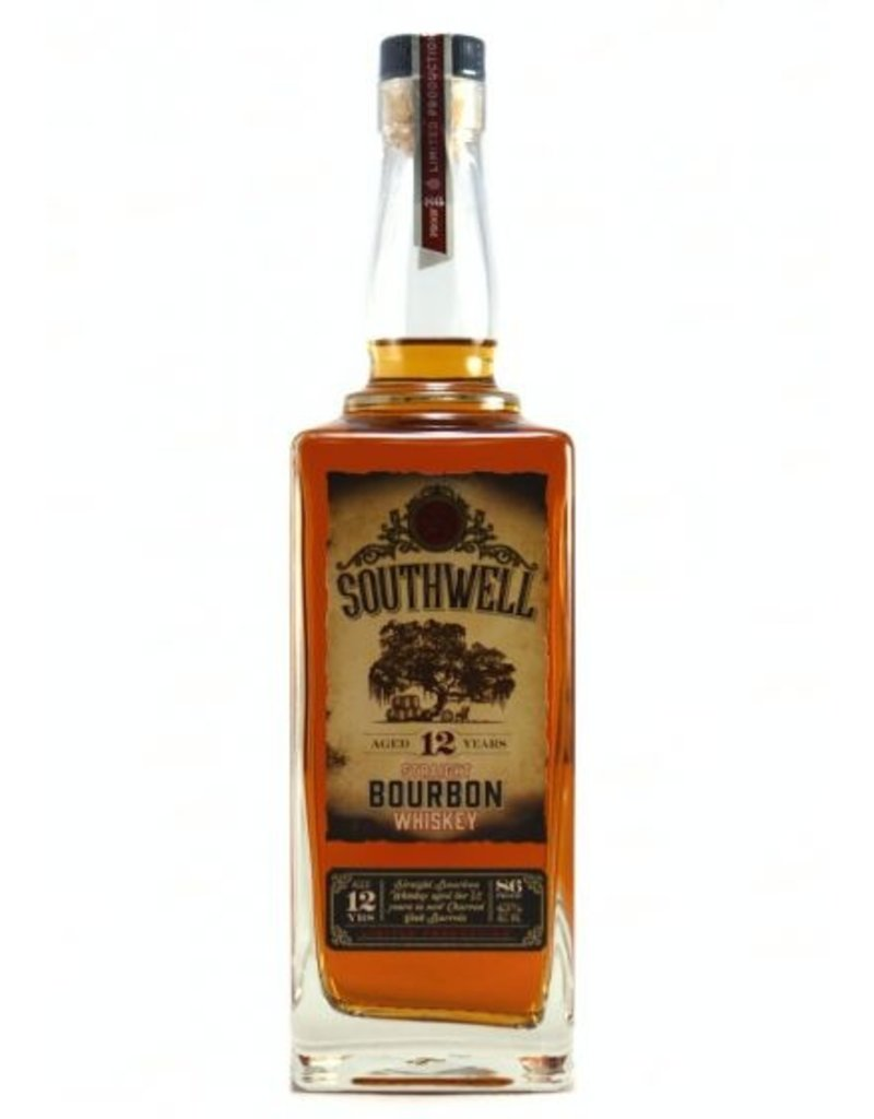 Bourbon Southwell Straight Bourbon Whiskey 12 Years 86 proof 750ml
