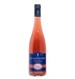 French Wine Chateau La Genestiére Tavel Rosé 2014 750ml