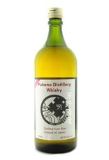 Asian Whiskey Fukano Distillery 2017 Edition 42.8% Cask Strength French Red Wine Matured Whisky 750ml