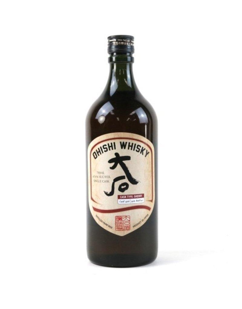 Asian Whiskey Ohishi Whisky 750ml