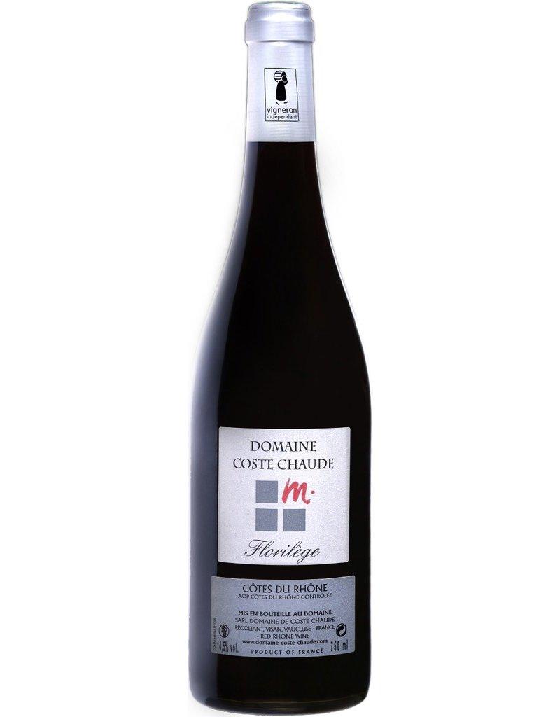 """French Wine Domaine Coste Chaude """"Florilége"""" Cotes du Rhone 2015 750ml"""