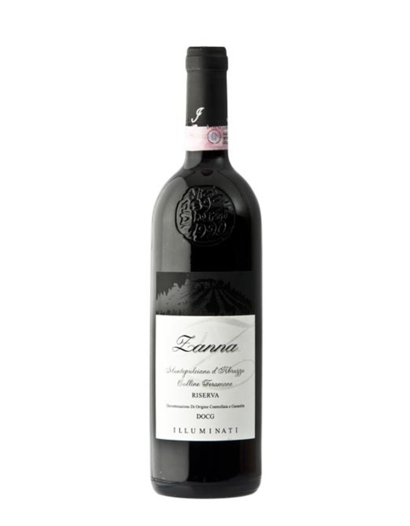 """Italian Wine Illuminati """"Zanna"""" Montepulciano d'Abruzzo Colline Teramane Riserva 2010 750ml"""