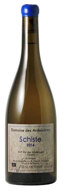 "French Wine Domaine des Ardoisiéres ""Schiste"" Vin des Allobroges Cevins 2014 750ml"
