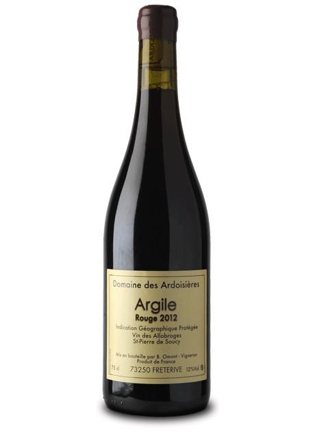 """French Wine Domaine des Ardoisiéres """"Argile"""" Rouge vin des Allobroges St-Pierre de Soucy 2014 750ml"""