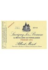 "French Wine Albert Morot Savigny-Les-Beaune 1er Cru ""La Bataillére aux Vergelesses"" Monopole 2015 750ml"