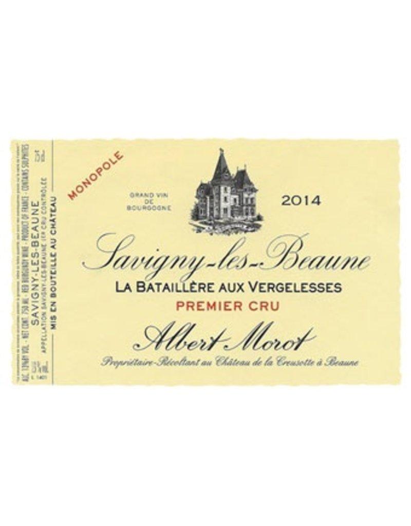 "French Wine Abert Morot Savigny-Les-Beaune 1er Cru ""La Bataillére aux Vergelesses"" Monopole 2015 750ml"