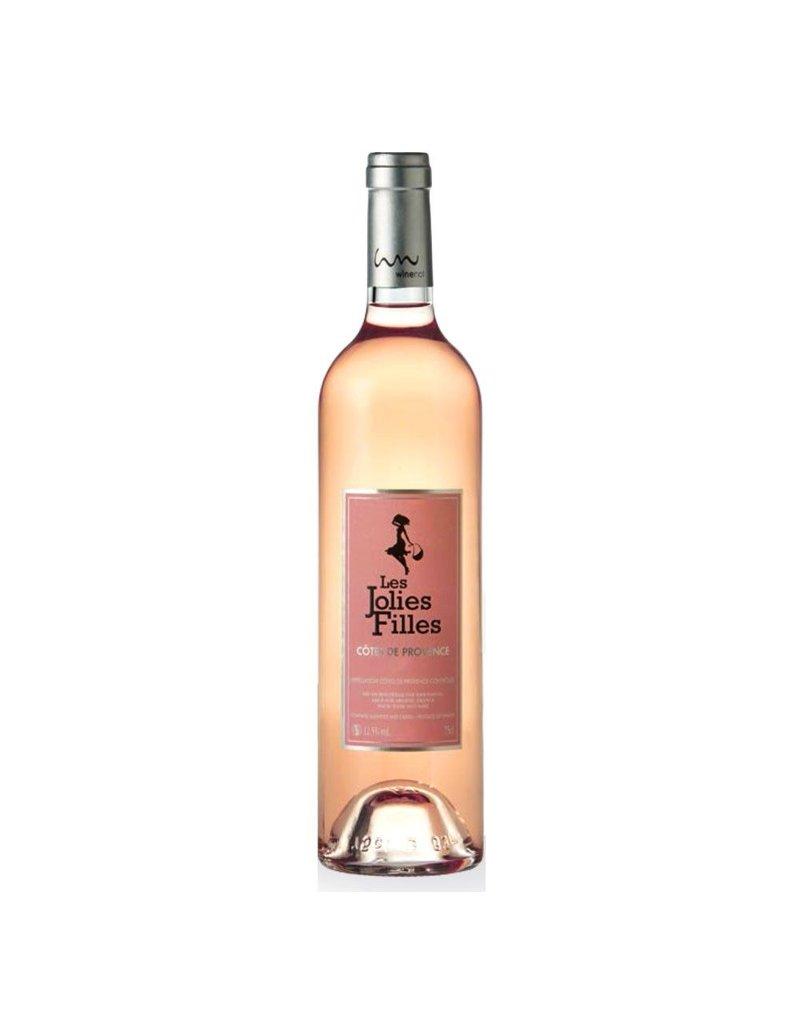 """French Wine Aegerter """"Les Jolies Filles"""" Cotes de Provence Rosé 2016 750ml"""