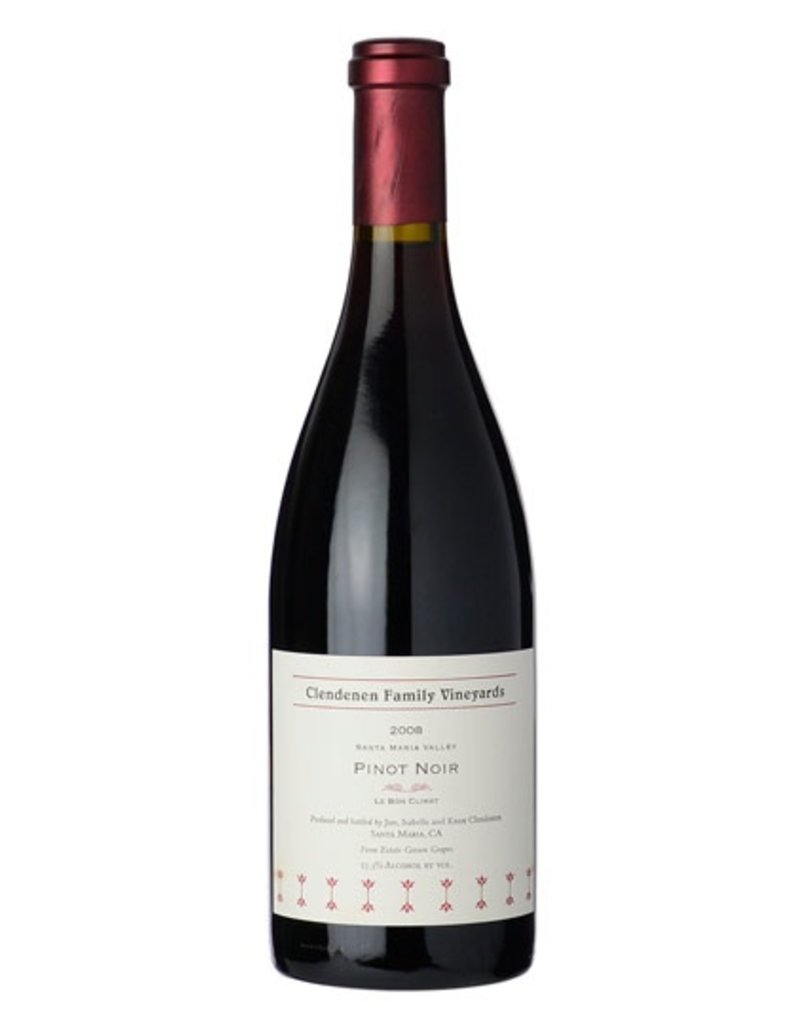 "American Wine Clendenen Family Vineyards Pinot Noir ""Le Bon Climat"" Santa Maria Valley 2012 750ml"