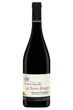 """French Wine Domaine de Saint Just """"Les Terres Rouges"""" Saumur-Champigny 2016 750ml"""