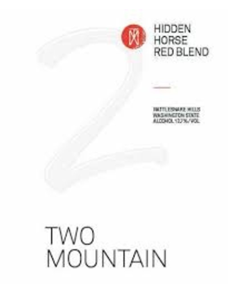 American Wine Two Mountain Hidden Horse Red Blend No. 10