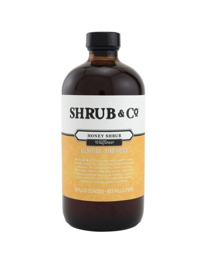 Mixer Shrub and Co Wildflower Honey Shrub