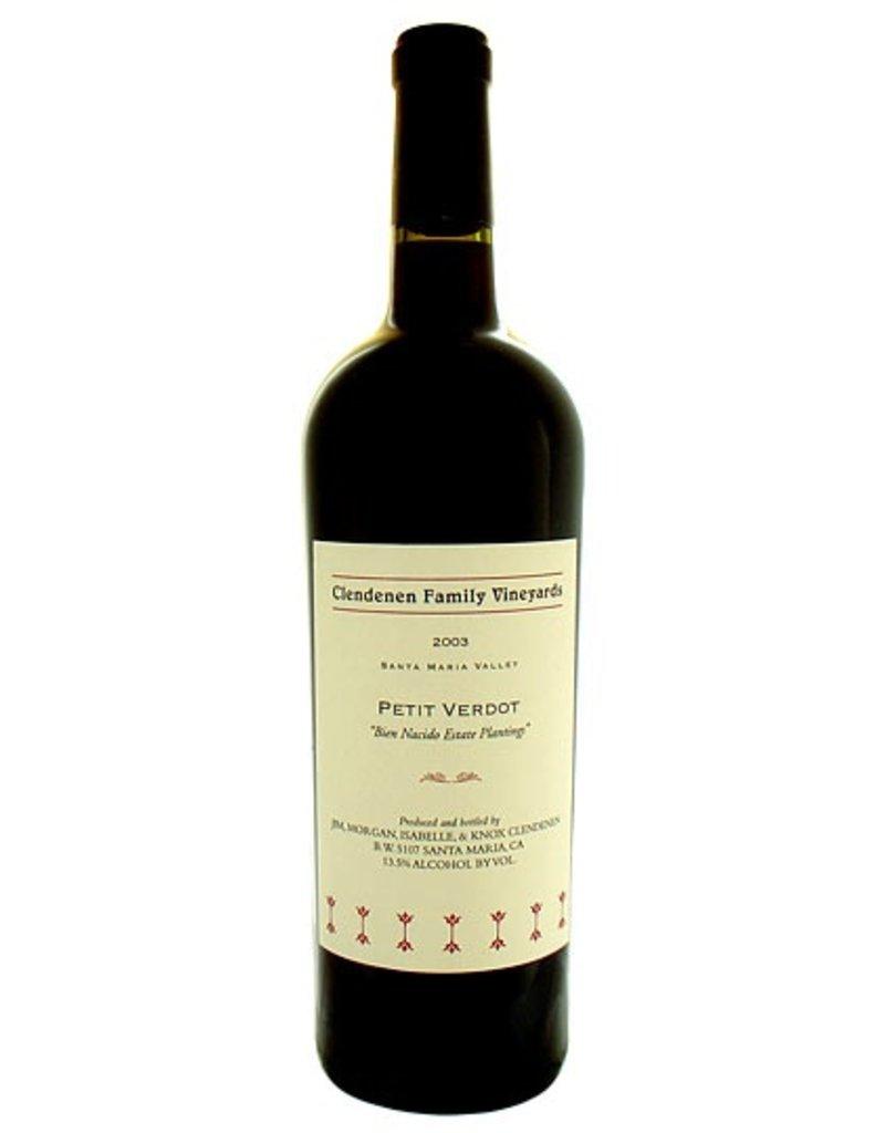 "American Wine Clendenen Family Vineyards Petit Verdot ""Bien Nacido Estate Plantings"" 2010 750ml"