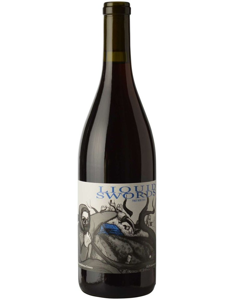 American Wine Liquid Swords Pinot Noir Santa Barbara County 2014 750ml