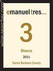 American Wine Emanuel Tres Blanco Santa Barbara County 2012 750ml
