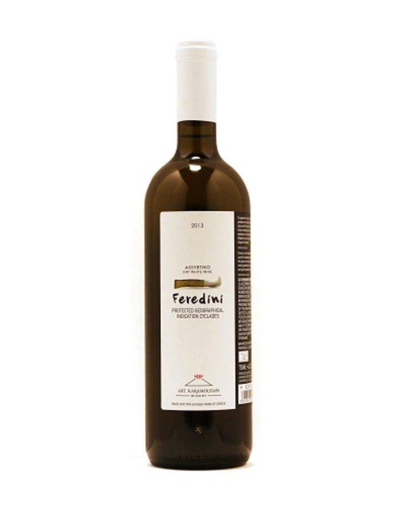 "Greek Wine Artemis Karamolegos ""Feredini"" Assyrtiko 2015 750ml"