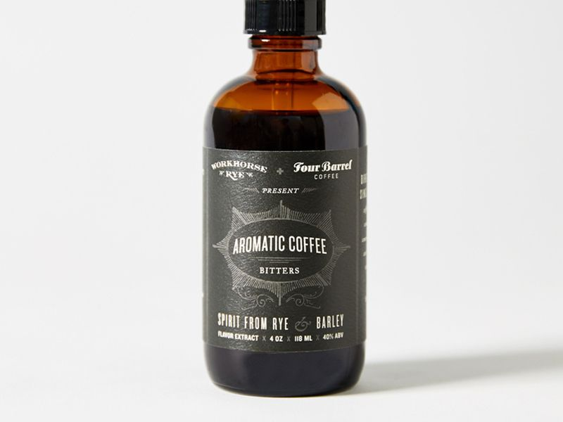 Bitter Workhorse Aromatic Coffee Bitters 1oz